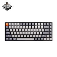Keychron K2 RGB Keyboard Brown Gateron Switch - Black Frame