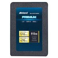 "Inland Premium 512 GB 3D QLC NAND SATA 3.0 6GB/s 2.5"" Internal SSD"