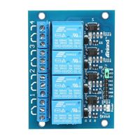 Inland 4 Channel 5V Relay Module for Arduino