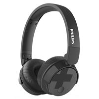 Philips Bass+ Wireless Noise Cancelling Headphones - Black