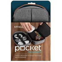 UT Wire Pocket for Gadgets - Gray
