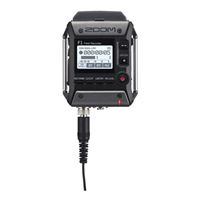 Zoom F1 Field Digital Handy Sound Portable Recorder w/ Lav Mic