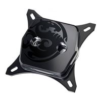 Bitspower Premium Summit CPU Water Block - Mystic Black Edition