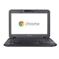 "Lenovo N21 11.6"" Chromebook Laptop Computer Refurbished - Black"
