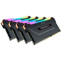 Corsair Vengeance RGB Pro 128GB (4 x 32GB) DDR4-3600 PC4-28800 CL18 Quad Channel Desktop Memory Kit - Black
