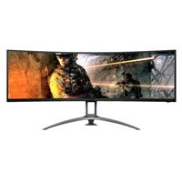 "AOC AG493UCX 49"" Dual QHD 120Hz HDMI VGA FreeSync HDR Curved LED Gaming Monitor"
