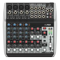 Behringer XENYX Q1202USB 12 Input Mixer with USB/Audio Interface