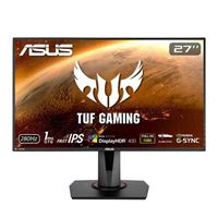 "ASUS VG279QM 27"" Full HD 280Hz HDMI DP HDR G-SYNC Compatible IPS LED Gaming Monitor"