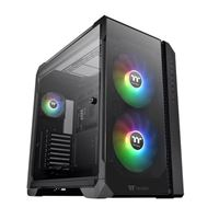 Thermaltake View 51 Tempered Glass eATX Full Tower Computer Case - Black