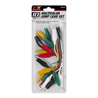 Performance Tools Multicolor Test Lead Set - 10 Piece