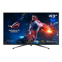 "ASUS PG43UQ 43"" 4K UHD 144Hz HDMI DP G-Sync Compatible HDR EyeCare LED Gaming Monitor"