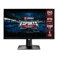 "MSI OPTIX MAG251RX 24.5"" Full HD 240Hz HDMI DP G-Sync Compatible HDR IPS LED Gaming Monitor"