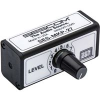 Sescom SES-MKP-27 3.5mm To 3.5mm Stereo Volume Control