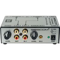 Sescom SES-ON-THE-LEVEL RCA To XLR Audio Level Converter With Level Controls