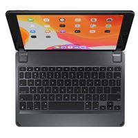 Brydge 10.2 Bluetooth Wireless Keyboard for iPad (7th Gen) - Gray