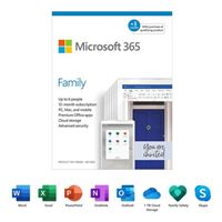 Microsoft 365 Family - 15 Months, Up to 6 People