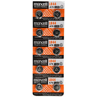 Dantona Industries Maxell LR44 Batteries - 10 Pack
