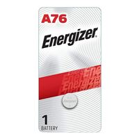 Energizer A76 1.5 Volt Manganese Dioxide Coin Cell Battery - 1 Pack