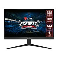 "MSI Optix G241 23.8"" Full HD 144Hz HDMI DP FreeSync IPS LED Gaming Monitor"