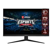 "MSI Optix G271 27"" 1920 x 1080 144Hz HDMI DP FreeSync IPS..."