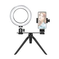 "Neewer 6"" USB LED Ring Light with Tripod Stand and Phone holder"