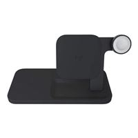 Logitech POWERED Wireless Charging 3-in-1 Dock (Graphite)