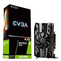 EVGA GeForce GTX 1660 Super Black Single-Fan 6GB GDDR6 PCIe 3.0 Graphics Card