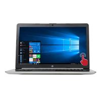 "HP 17-by2075cl 17.3"" Laptop Computer Factory Refurbished - Silver"