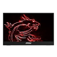 "MSI Optix MAG161V 15.6"" Full HD 60Hz mini-HDMI USB-C   Portable IPS LED Monitor"