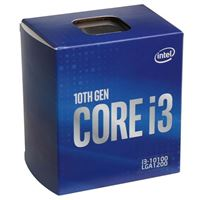 Intel Core i3-10100 Comet Lake 3.6GHz Quad-Core LGA 1200 Boxed Processor
