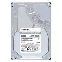 "Toshiba X300 7200RPM 8TB SATA III 6Gb/s 3.5"" Internal Hard..."