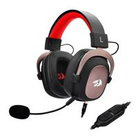Redragon H510 Zeus Wired Gaming Headset 7.1 Surround Sound Works with PC/PS4 & Xbox One, Nintendo Switch