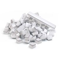 Glorious PC Gaming Race Glorious Aura Mechanical Keycaps - White