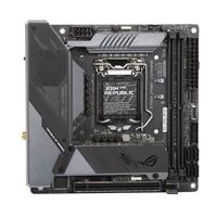 ASUS Z490-I ROG Strix Intel LGA 1200 Mini-ITX Motherboard