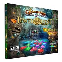 Legacy Games Amazing Match 3 Games: Jewel Quest 10-Pack