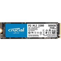 Crucial P2 500GB (CT500P2SSD8) M.2 NVMe  Interface PCIe 3.0 x4...