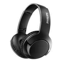Philips BASS SHB3175 Over Ear Wireless Headphones w/ Mic - Matte Black