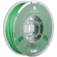 Polymaker 1.75mm Green PolyMax PLA 3D Printer Filament - 0.75kg Spool (1.6 lbs)