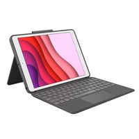 Logitech Combo Touch for iPad 7th Gen. - Black