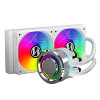 Lian Li Galahad 240mm RGB Water Cooling Kit - Silver