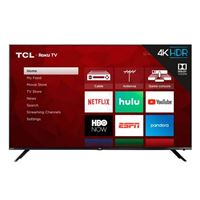 "TCL 65R613 65"" Class (64.5"" Diag.) 4K Ultra HD HDR Smart Roku LED TV - Refurbished"