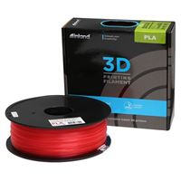eSun 1.75mm Glass Watermelon PLA 3D Printer Filament - 1kg Spool (2.2 lbs)