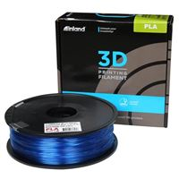 eSun 1.75mm Glass Light Blue PLA 3D Printer Filament - 1kg Spool (2.2 lbs)