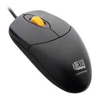 Adesso Waterproof Antimicrobial Mouse with Magnetic Scroll Wheel