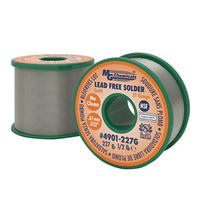 MG Chemicals 1/4lb Spool Lead Free No Clean .032 Dia 96.3Tin .7% Copper 3% Silver