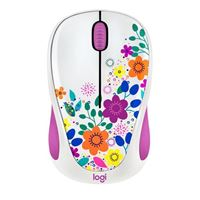 Logitech Design Collection Wireless Optical Mouse - Spring Meadow