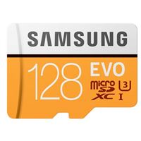 Samsung 128GB EVO V5 NANA microSDXC Class 10 / U3 Flash Memory Card with Adapter