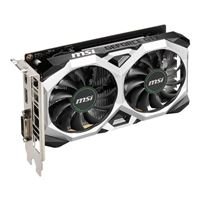 MSI GeForce RTX 2060 Ventus XS Overclocked Dual-Fan 6GB GDDR6 PCIe 3.0 Graphics Card