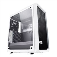 Fractal Design Meshify C Tempered Glass ATX Mid-Tower Computer Case - White