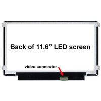 "11.6"" Replacement Laptop LCD Screen HD 1366 x 768 Matte"